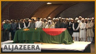 State funeral for Bangladesh's former President Ershad