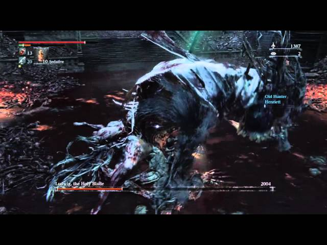 Bloodborne - Beating Ludwig (Old Hunters)
