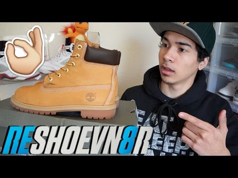 How to Clean Timberland Boots Tutorial! Using @RESHOEVN8R & @CrepProtect