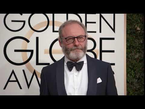 Liam Cunningham Fashion - Golden Globes 2017