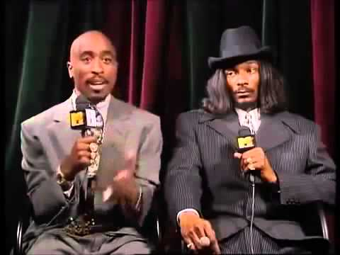 2Pac & Snoop Dogg - Interview at the MTV Video Music Awards 1996