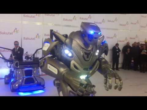 Titan The Robot in Baku