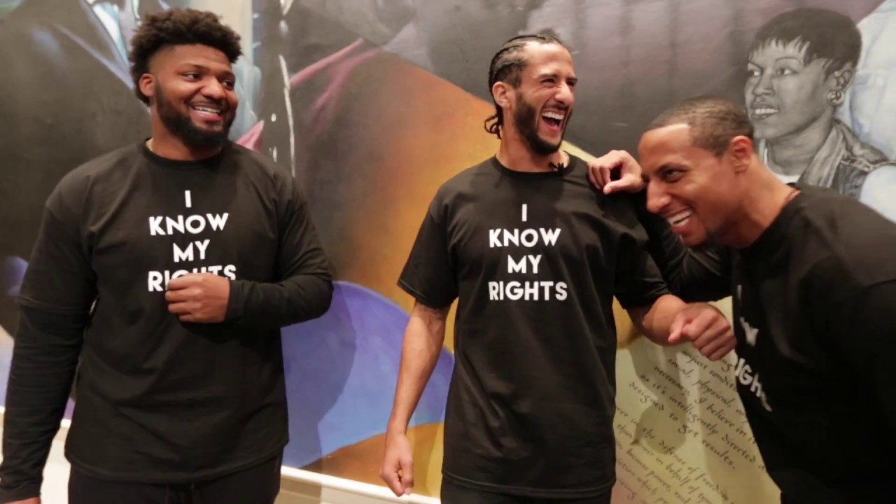 Know Your Rights Camp NYC | Colin Kaepernick