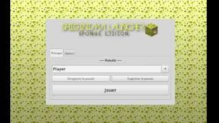 Comment démarrer Minecraft avec Shinginima Launcher ?