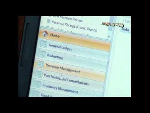 Techno Brain IFMS project over Microsoft Dynamics NAV  ERP System for Local Government Uganda