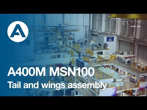 17. How to build an A400M - Tail and wings assembly