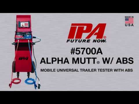 #5700A ALPHA MUTT w/ ABS By Innovative Products Of America