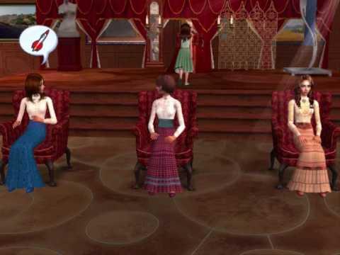 Anastasia Sims 2 Musical Part 1