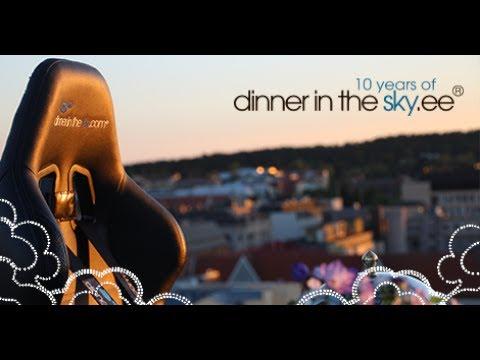 Dinner in the Sky 2017 Tallinn
