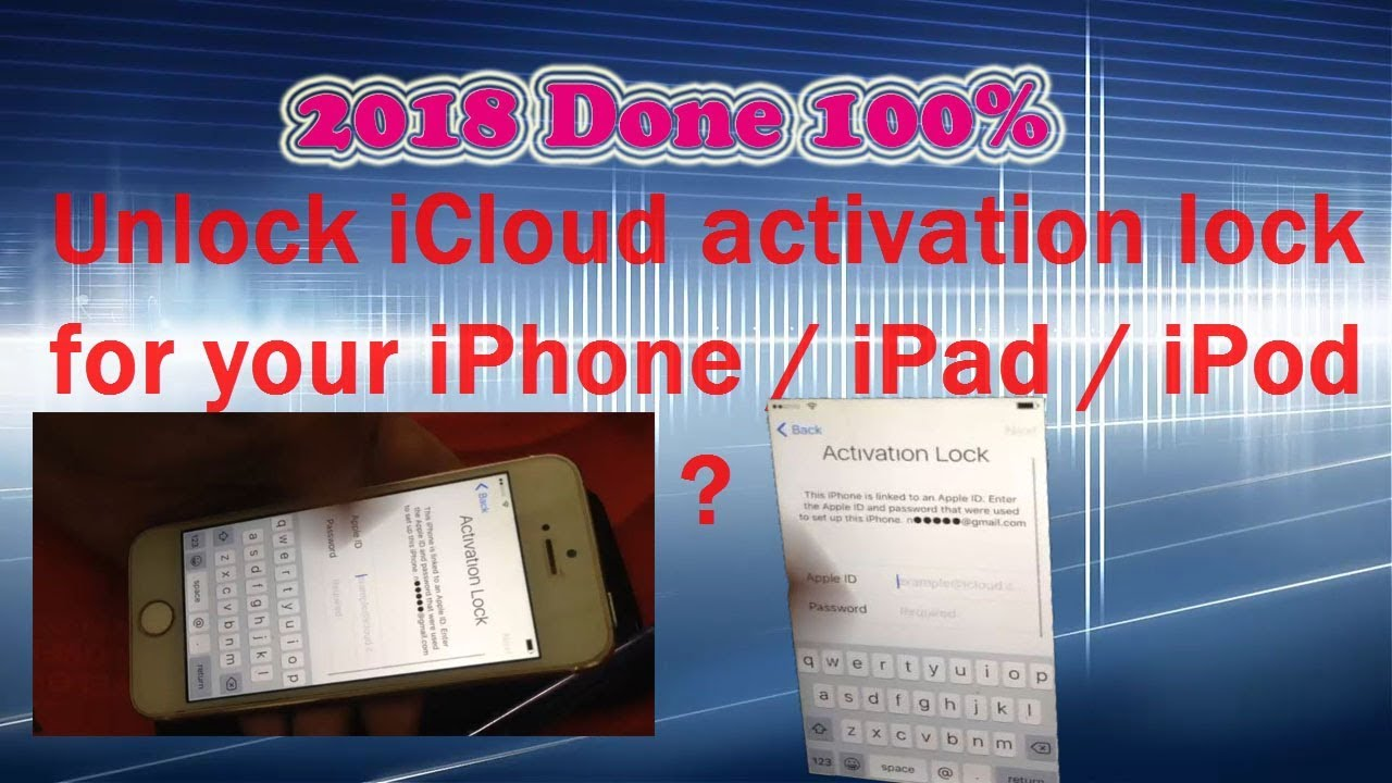 free unlock icloud activation lock without apple id