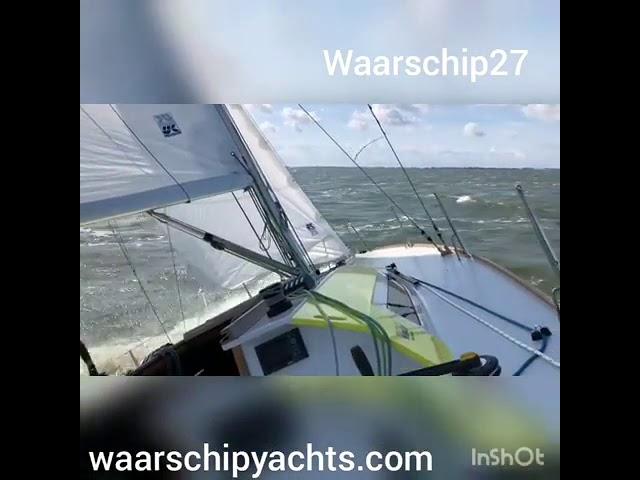 Waarschip 27 / 8.25 CR  vs Waarschip W36 Worlds Edition - Rolex Fastnet Race - Lake IJsselmeer