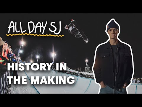 Can World Champ Scotty James Make Halfpipe History? | All Day SJ E7