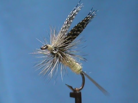 Fly Tying a Green Drake with Jim Misiura