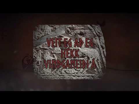 Danheim & Sigurboði - Rúnatal (Lyrics Video)