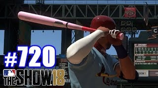 THEY ONLY LET YOU USE THIS BAT ONCE PER SEASON! | MLB The Show 18 | Road to the Show #720