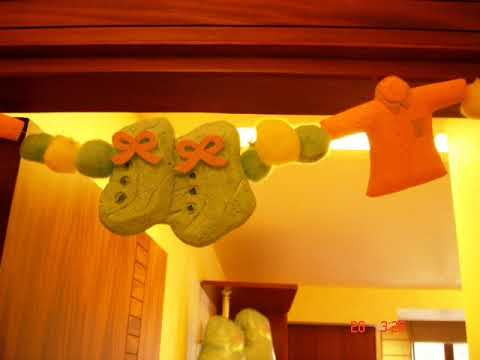 Newborn baby welcome decoration ideas youtube for Baby welcome party decoration ideas