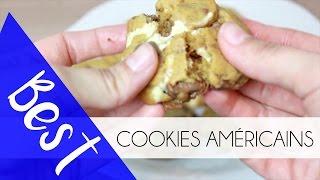 une recette pour les vrais chocolate chip cookies des etats unis