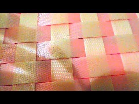 Поделки из упаковочной ленты своими руками