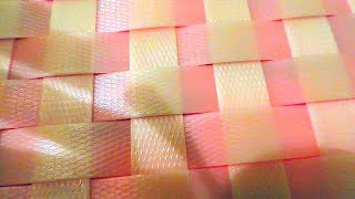 ТЕРЕФТАЛАТ. Плетение из упаковочной ленты.