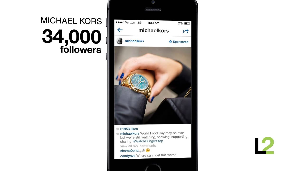 Flash Of Genius Michael Kors X Instagram