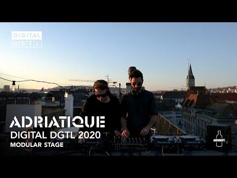Adriatique   Recorded stream DIGITAL DGTL - Modular