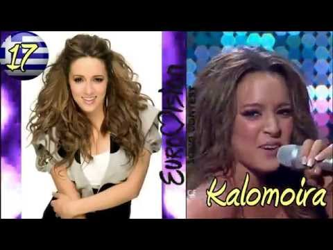 My top 20 beautiful women in Eurovision (2005-2014)