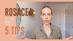Mes 5 conseils pour mieux vivre sa rosacée | MATHILDE LACOMBE