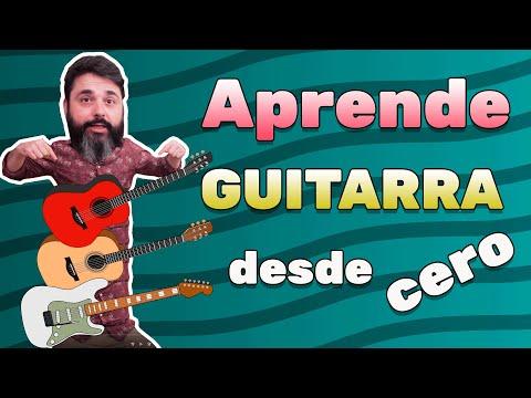 Curso De Guitarra Para Principiantes Aprende A Tocar De Cero