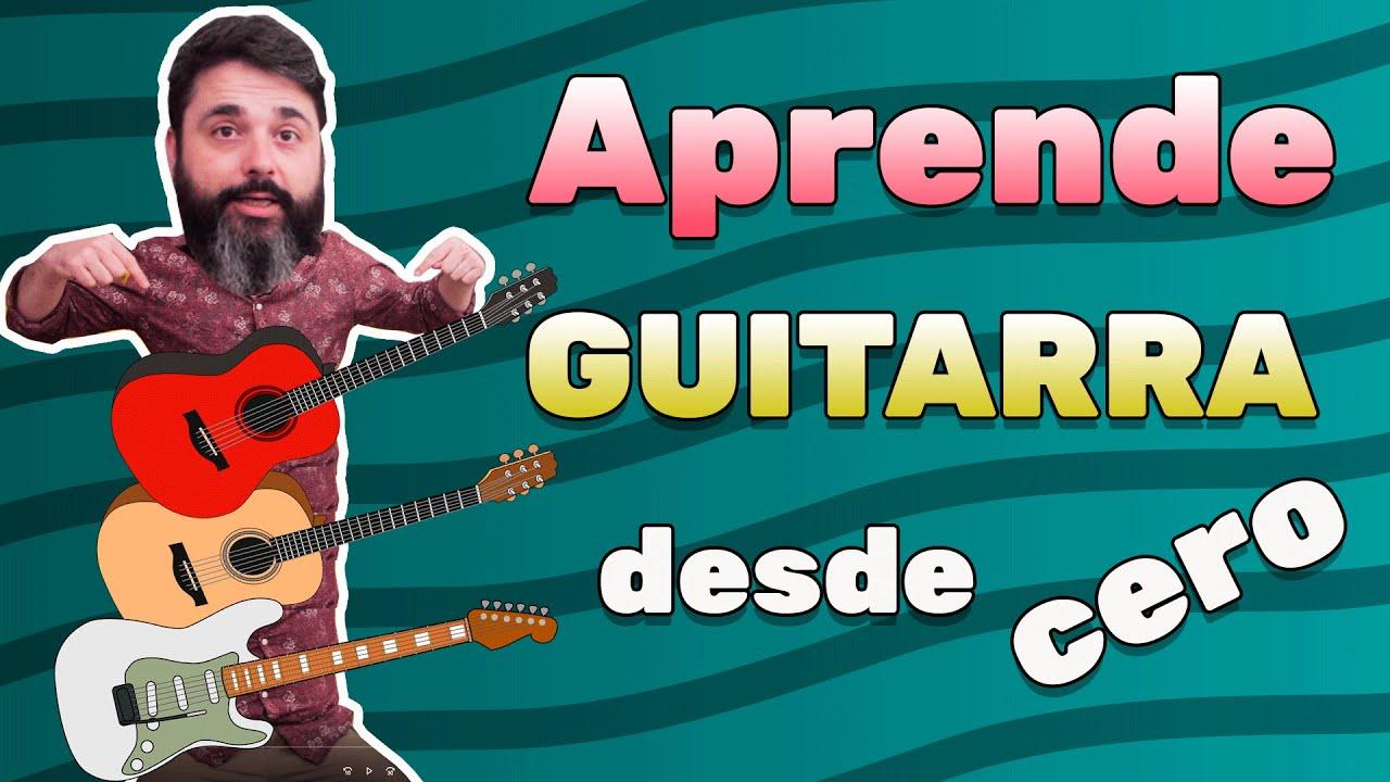 Aprender a tocar la guitarra desde cero 🎸 primera clase de guitarra 🎸🎸 -  YouTube