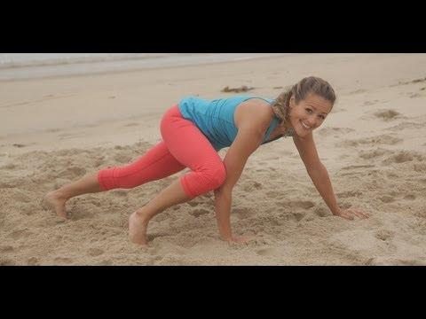 Calorie Burning Beach Workout | Arm and Leg Workout | Fitness How To