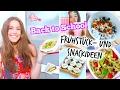 DIY BACK TO SCHOOL SNACKS und FRÜHSTÜCKSIDEEN! ♡ BarbieLovesLipsticks