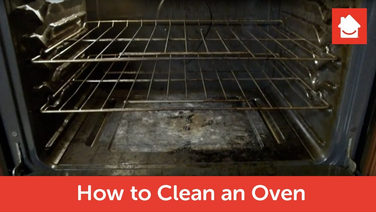 how to clean your oven a deep cleaning