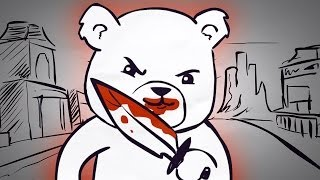 Murdering Rapist Bear On Sourcefed Animated