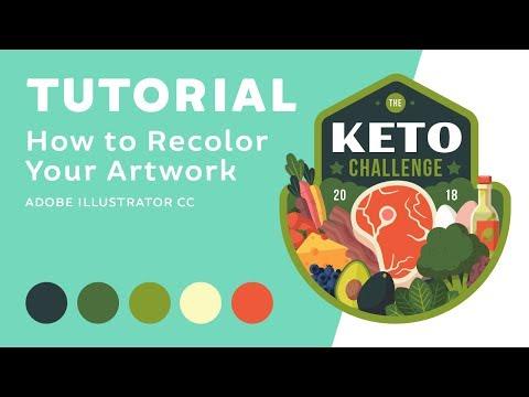 Tutorial | How to Recolor Artwork in Adobe Illustrator CC