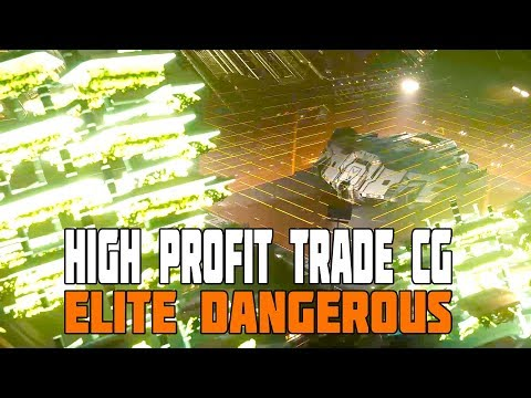 Elite Dangerous - High Profit Trade Runs (Chapterhouse CG)