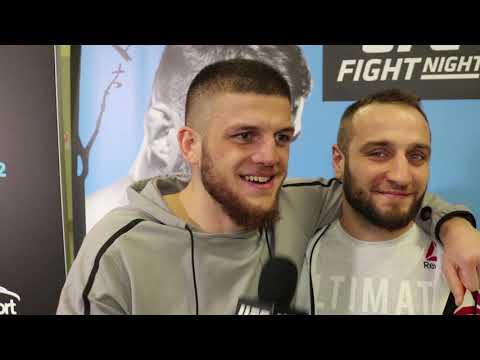Исмаил Наурдиев: интервью после победы на UFC Прага