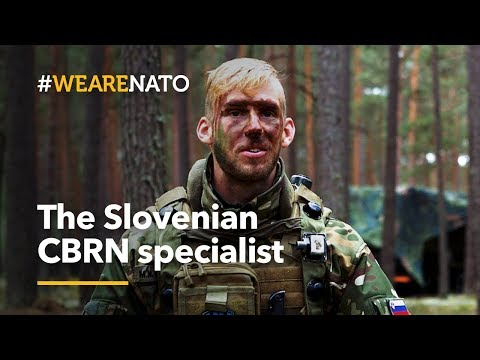 The Slovenian CBRN specialist - #WeAreNATO