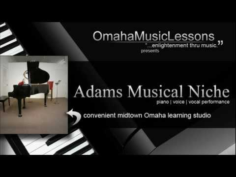 Omaha Music Lessons Presents Adams Musical Niche