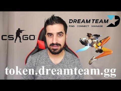 ICO NEWS: DreamTeam Token Manage Your Esports Team Overwatch CS:GO LOL