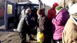 Помощь нуждающимся на востоке Украины 25-26. 12. 2014