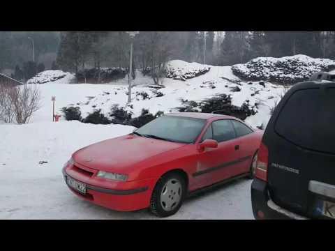 Opel Calibra c20ne Cold Start -22 °C