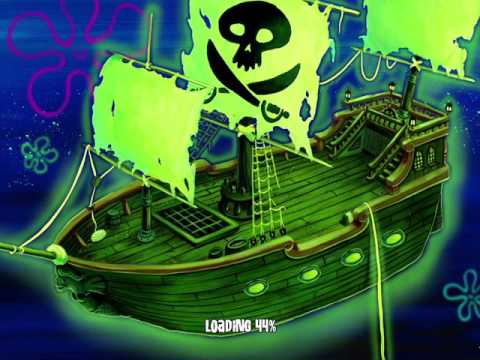 SpongeBob SquarePants: Lights, Camera, PANTS! (The Ghost Pirate)