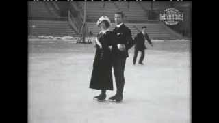 1913 World Ladies & Pairs Figure Skating Championships & Mens Nordic Games
