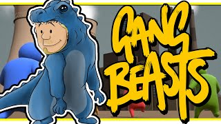 SquiddyPlays - GANG BEASTS ONLINE! W/AshDubh