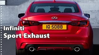 infiniti sport exhaust kits for q50 and q60