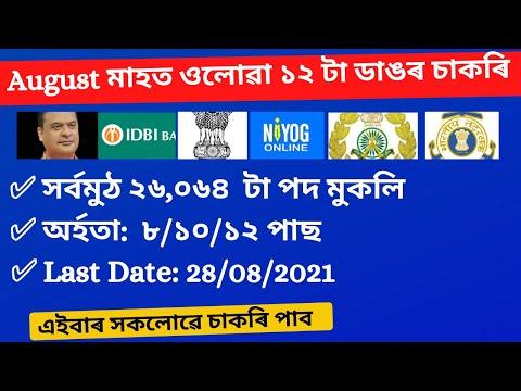Download Latest Job In Assam 2021 //  Assam Job News Today // Assam Job 2021 // by Assam Job Information