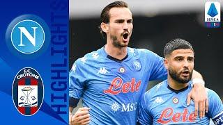 Napoli 4-3 Crotone | Il Crotone non molla, ma Di Lorenzo fa gioire Gattuso | Serie A TIM