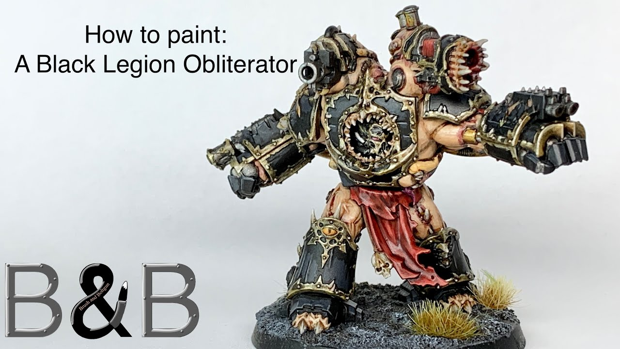 Download How to Paint an Obliterator, Black Legion