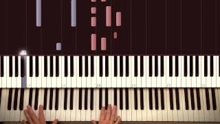 Thinking out loud - Ed Sheeran. Piano Cover - Tutorial by Piano Couture.