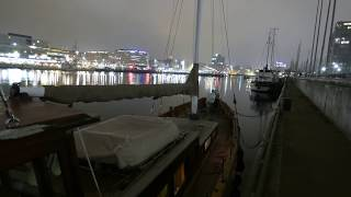 Kieler Förde Zeitraffer November 2018 - timelapse Kiel